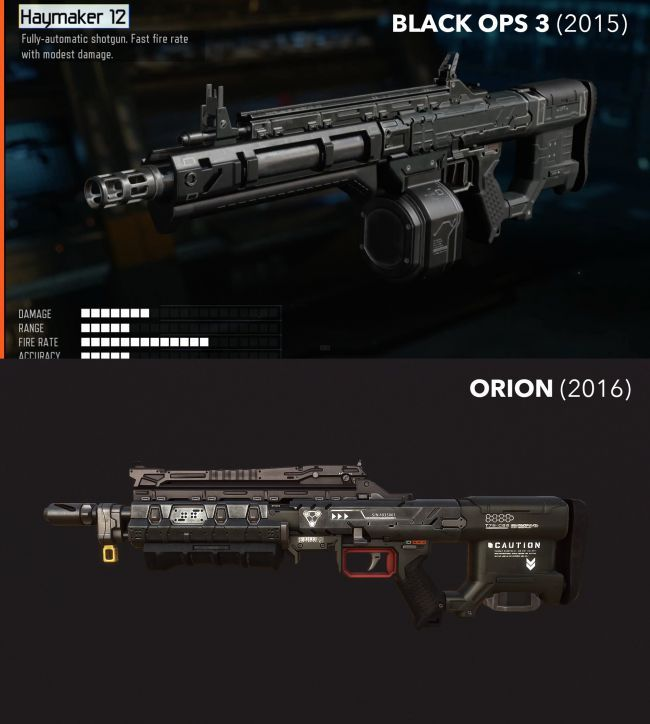 black ops 3 and orion weapon in game