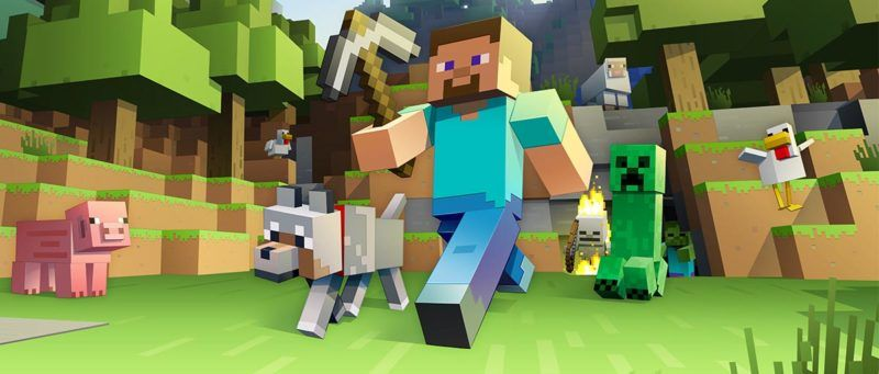 minecraft wallpaper banner header
