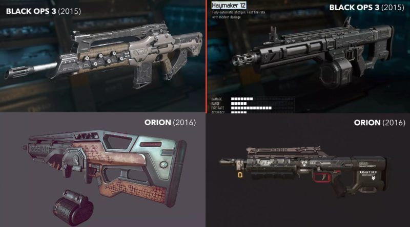 orion black ops 3 weapon comparison gamedaim.com