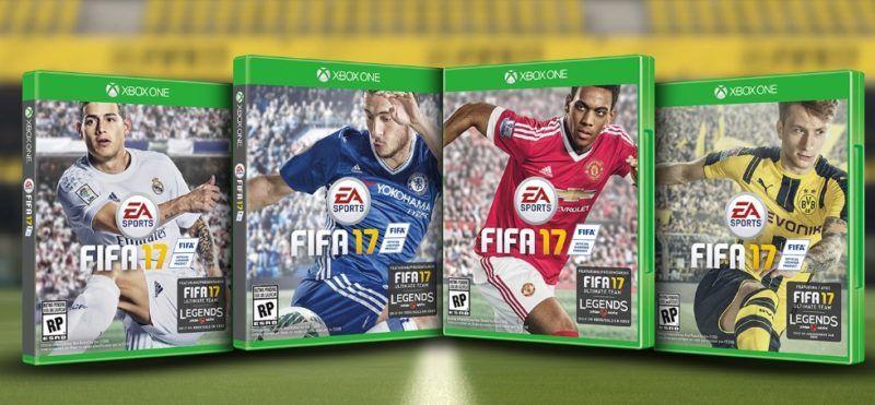 FIFA 17 player cover xbox one gamedaim.com