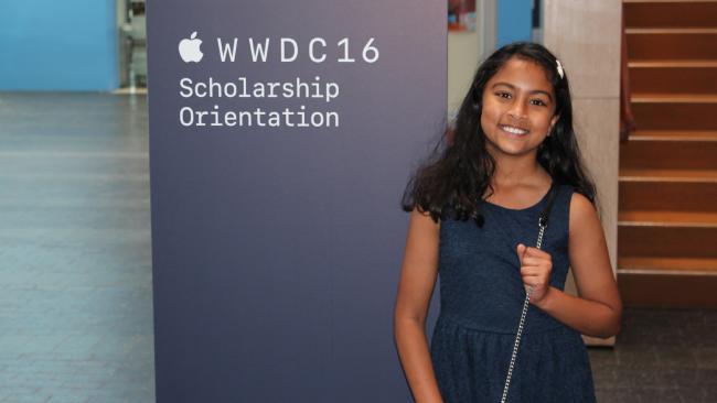 Anvitha Vijay, Developer Perempuan Termuda di WWDC 2016