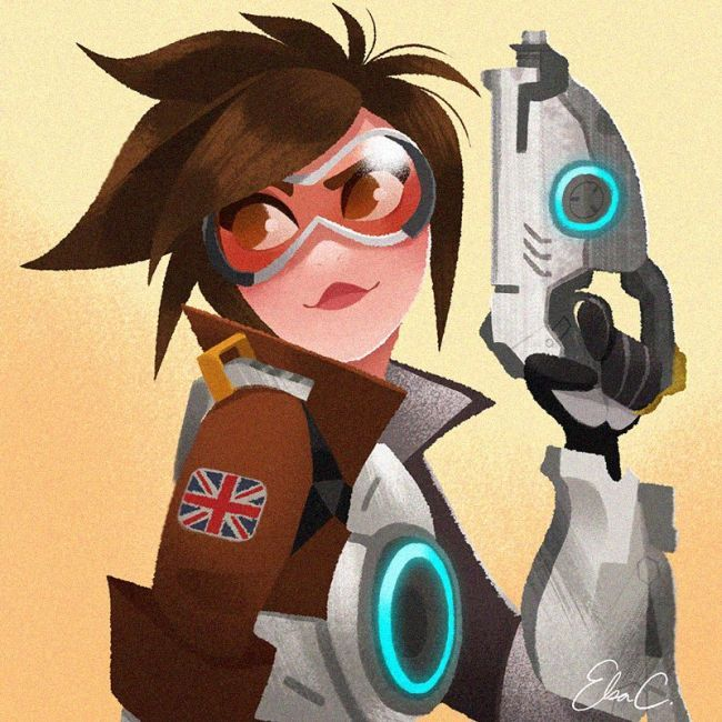 overwatch fan art 4 gamedaim.com