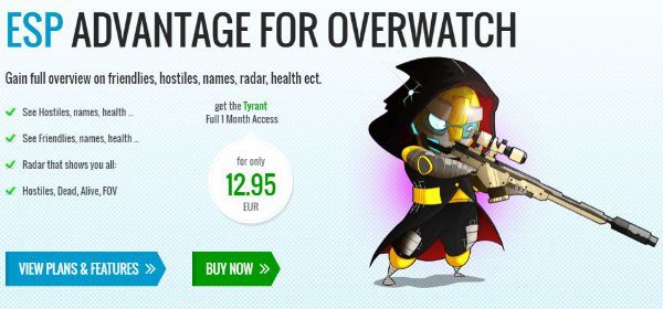 Blizzard Menggungat Pembuat Cheat Overwatch
