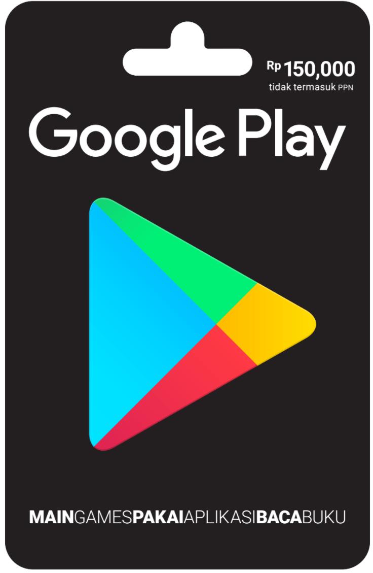 Rp 150.000 Google Play Gift Card