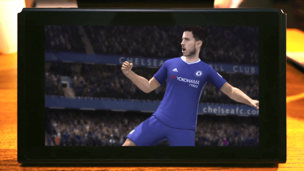 FIFA 18 di Nintendo Switch