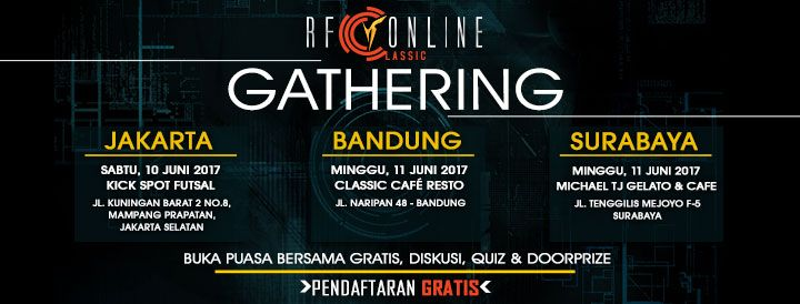 3rd Community Gathering RF Classic Indonesia