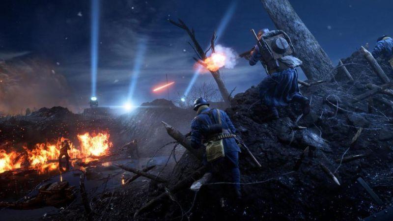 battlefield 1 map nivelle night