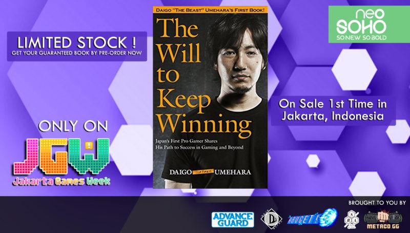 Buku Daigo - Jakarta Games Week 2017