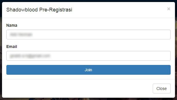 Form Registrasi Lytogame