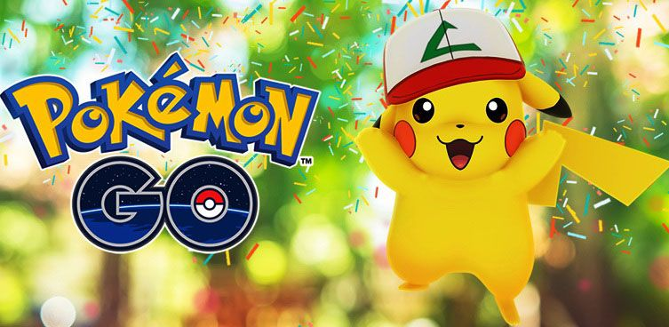 Event Anniversary Pokemon GO