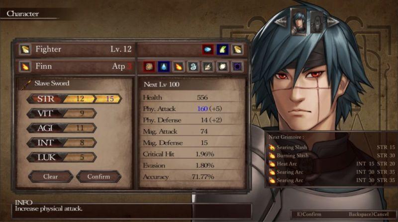 Character Legrand Legacy