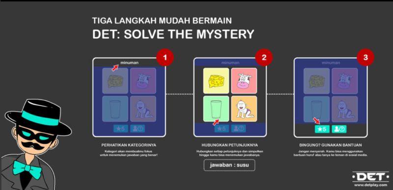 DET:solve the mystery Tutorial
