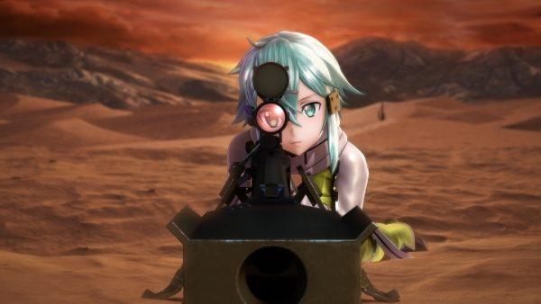 Bandai Namco Ungkap Proyek Rahasianya, Game Sword Art Online: Fatal Bullet