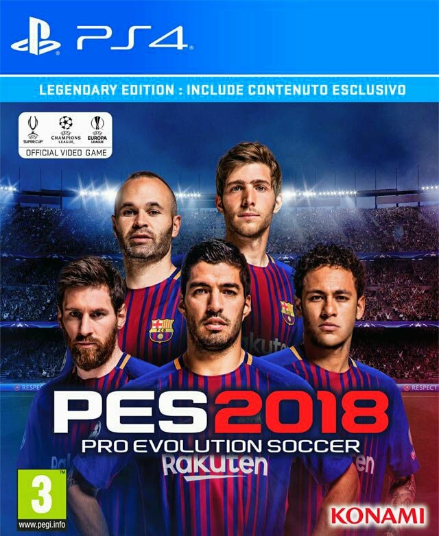 Cover Pro Evolution Soccer Neymar