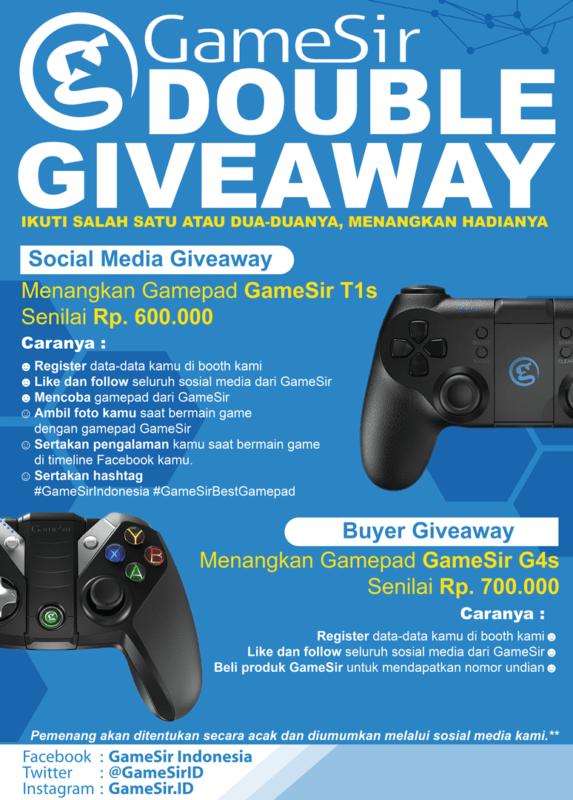 GameSir adakan Double Giveaway!