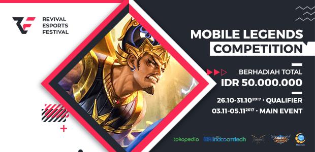 RevivaL Esports Festival Akan Diselenggarakan di Indocomtech 2017