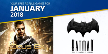 PS Plus Jan 2018