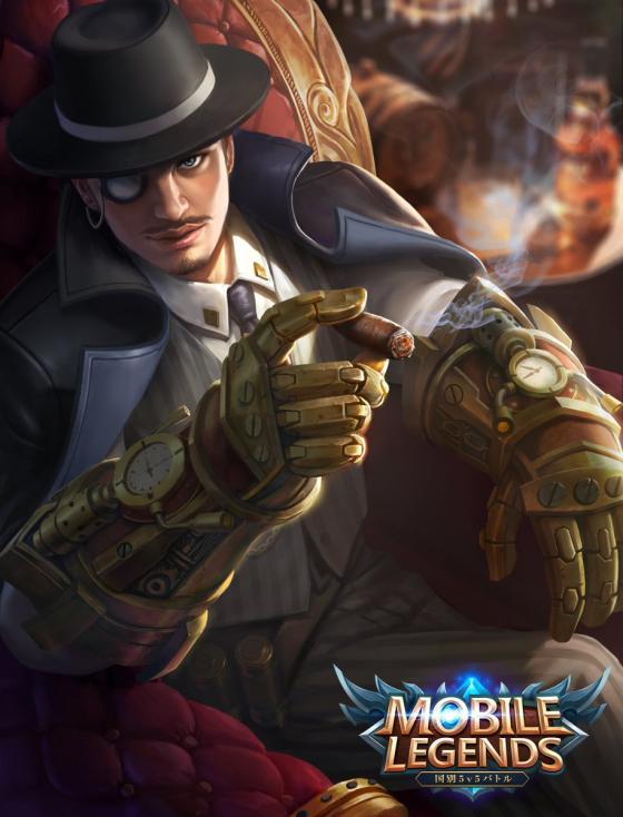 Hero Roger Dark Gent Mobile Legends