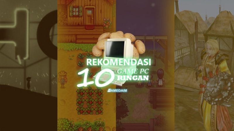 Rekomendasi 10 Game Ringan [Thumbnail] by Gamedaim