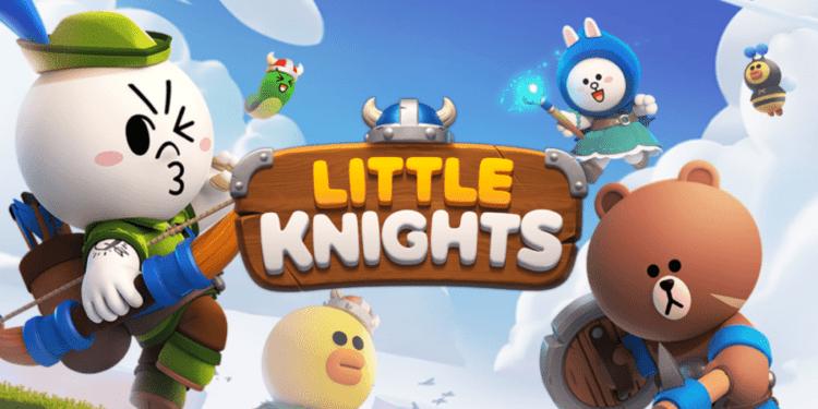 Line Little Knight