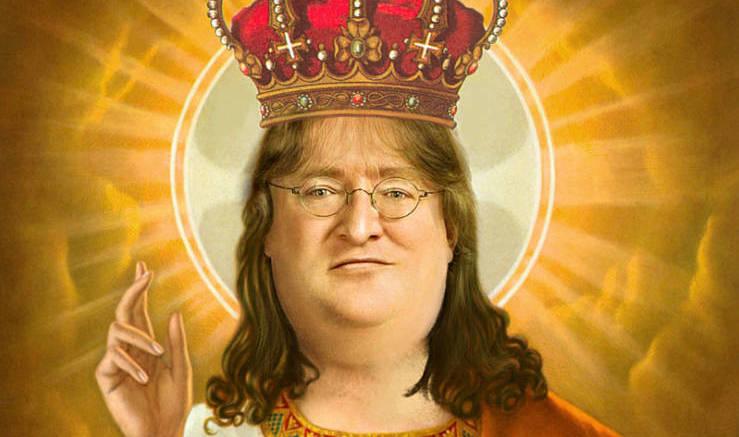 Gabe Newell Portrait By Freddre D4rnffi