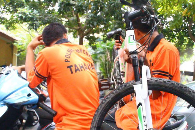Gamer Mobile Legends Keciduk Curi Sepeda