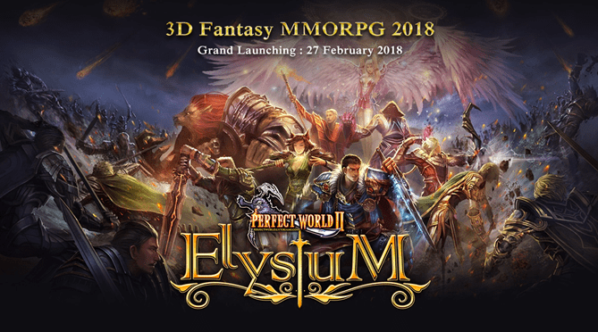 Perfect World II Elysium,  3D Fantasy MMORPG Tter-hot di tahun 2018!