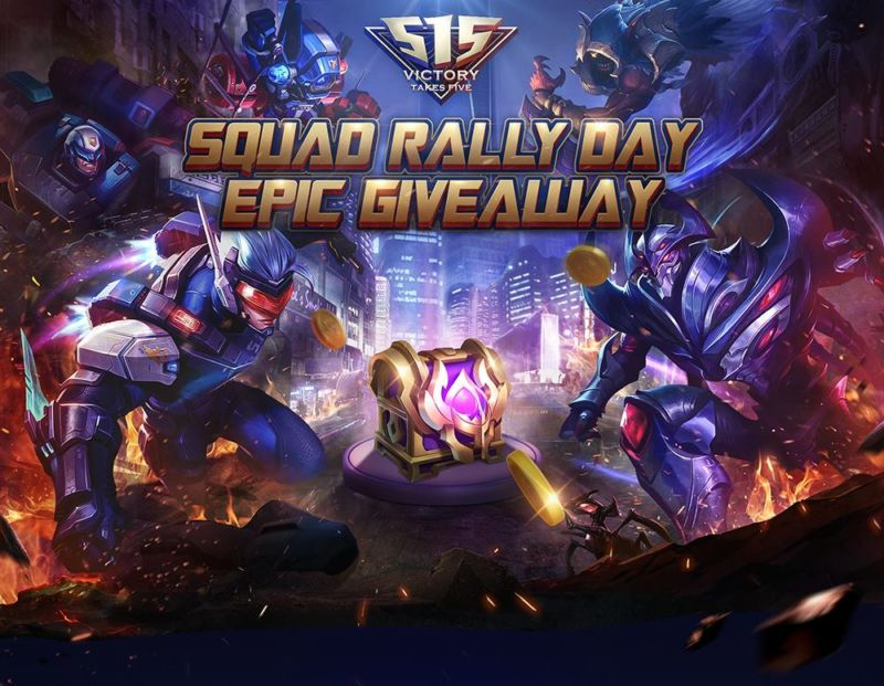 squad rally mobile legends epic giveaway