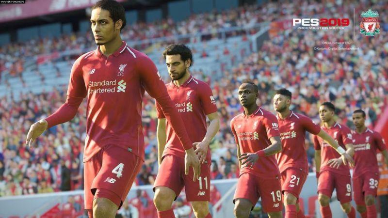 4 Fitur Terbaru PES 2019 Gameplay