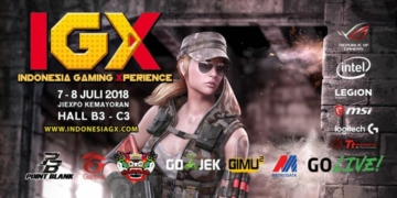 Indonesia Game Experience 2018