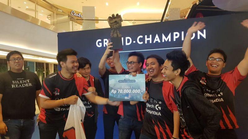 BoomID Sebagai Pemenang KASKUS Battleground Season 1 Menerima Hadiah Sebesar Rp.70.000.00