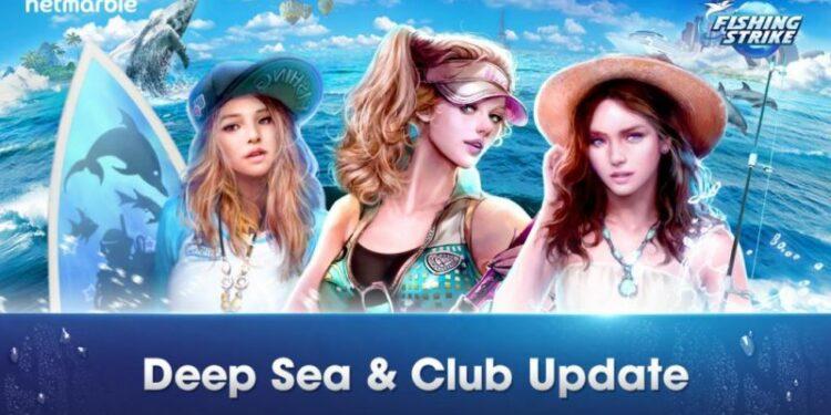 Netmarble Fishing Strike Update Besar Besaran Untuk Fitur Club
