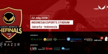 PES 2018 Final Indonesia Banner Utama