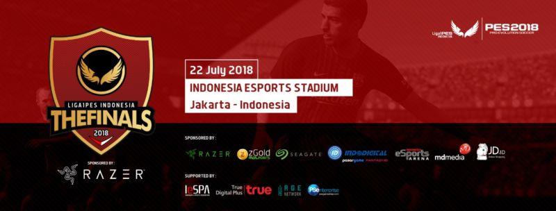 PES 2018 Final Indonesia banner utama - Syahrul Nizam - Gamedaim.com