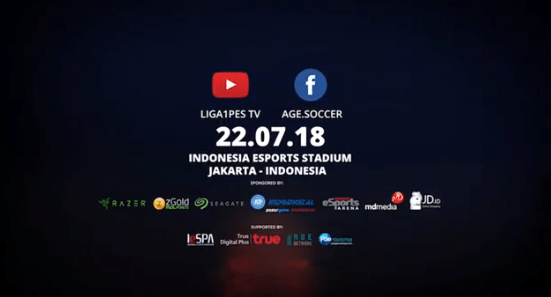 PES 2018 Final Indonesia Banner