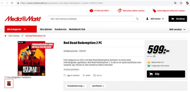 Benarkah Red Dead Redemption 2 Akan Rilis Di PC Tahun Depan Game
