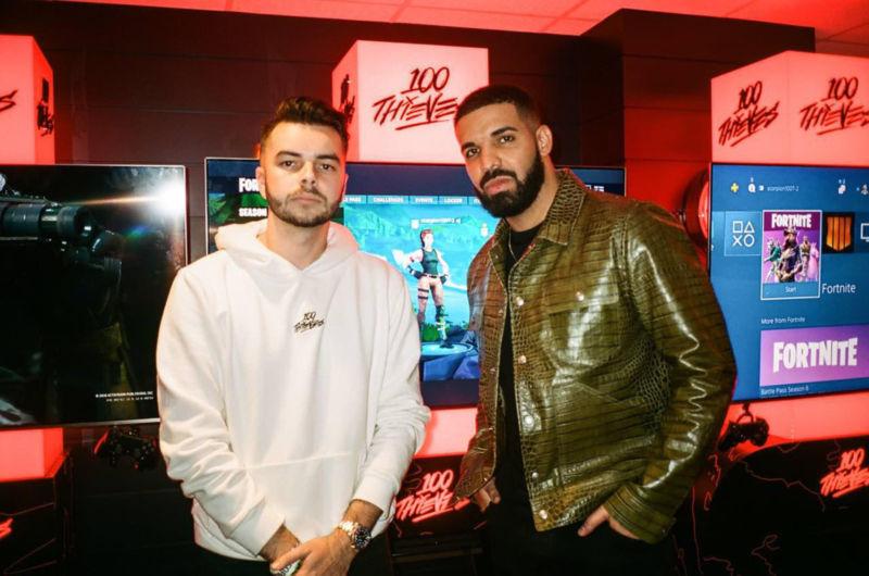 DJ Drake Terjun Ke Dunia Esports Dan Menjadi Co Owner 100 Thieves! Gamedaim