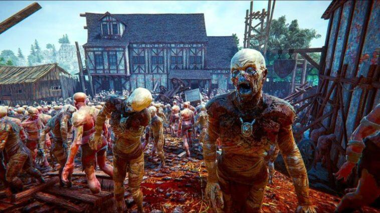 Trailer Terbaru The Black Masses Rilis, Pamerkan 6000 Zombie Menyerang Kota! Gamedaim