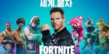 Aktor Film Avengers Infinity War, Chris Patt Promosikan Fortnite Di Korea Selatan! Gamedaim