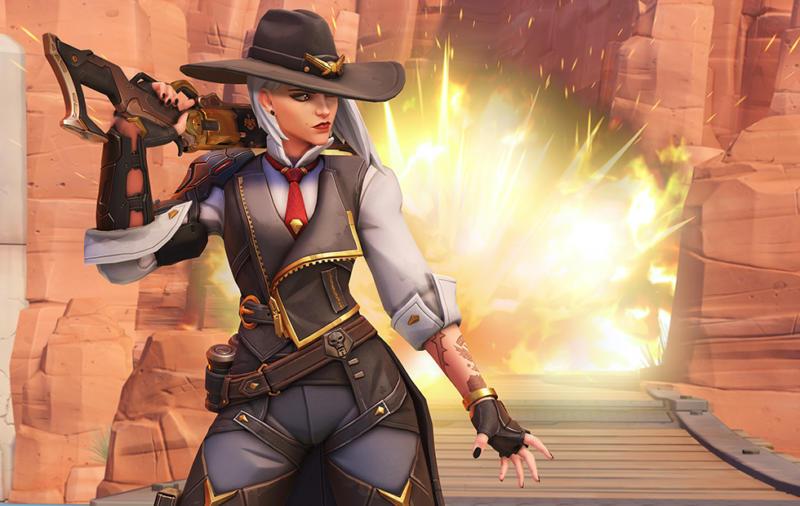 Blizzard Umumkan Hero Terbaru Di Overwatch Adalah Ashe, Sang Pemimpin Deadlock Gang! Gamedaim