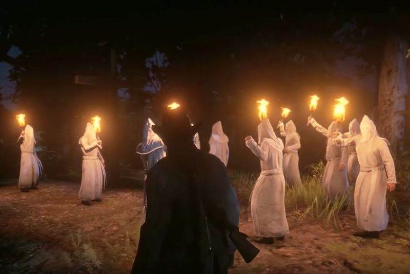 Red Dead Redemption 2 Membunuh Anggota KKK Akan Meningkatkan Peringkat Kehormatan Kalian! Game