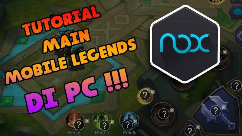 Beginilah Cara Main Mobile Legends Di PC Dan Laptop! Gamedaim