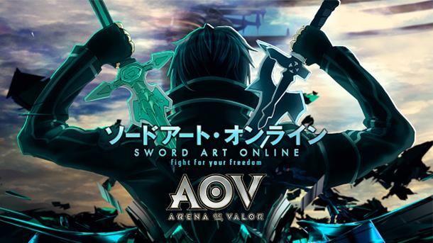 Benarkah AOV Akan Hadirkan Kolaborasi Dengan Sword Art Online Gamedaim