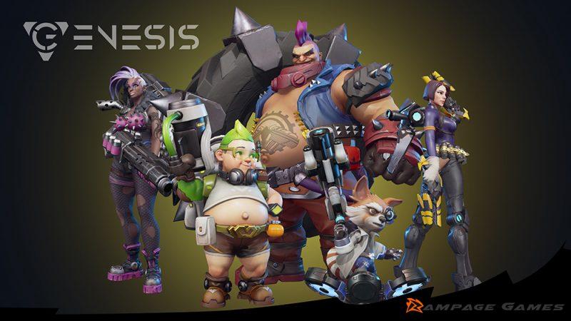 Genesis, Game Tipe MOBA Bertema 'Futuristik' Yang Akan Segera Rilis Di Berbagai Platform! Gamedaim