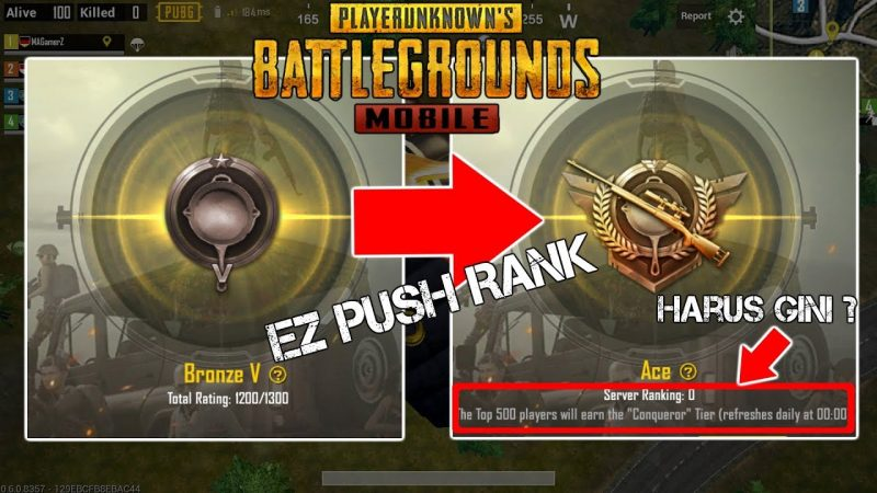 Inilah 5 Tips Mudah Push Rank PUBG Mobile, Auto Jadi Top Global! Gamedaim