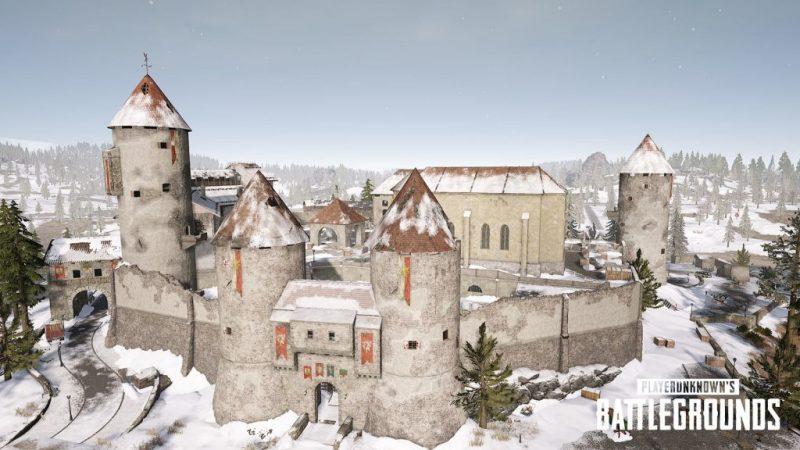 Wajib Tahu, Inilah 7 Tempat Looting Terbaik Di Map Vikendi PUBG! Castle