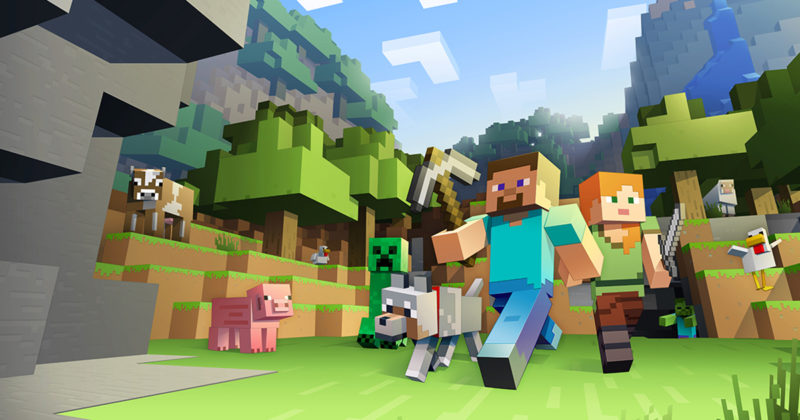 10 Rekomendasi Game Gratis Terbaik, Enggak Kalah Sama Yang Bayar! Minecraft
