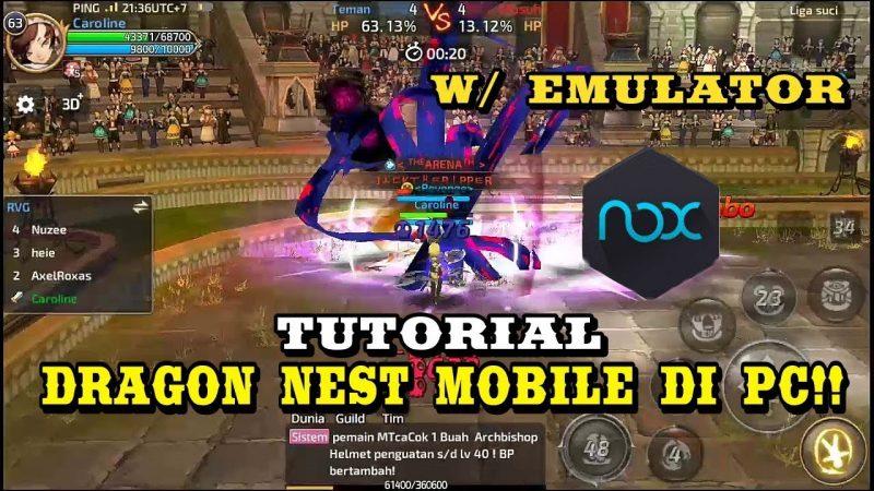 Beginilah Cara Main Dragon Nest M Di PC Atau Laptop Dengan Mudah! Gamedaim