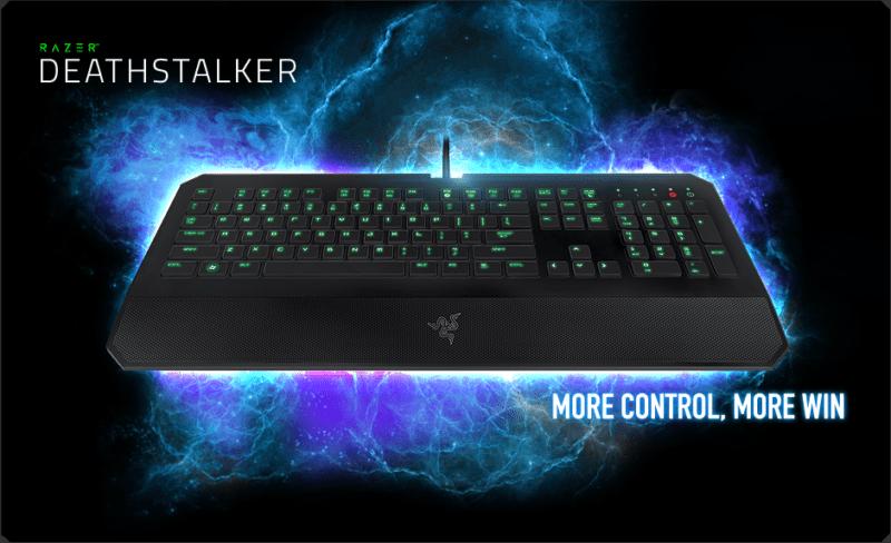 10 Rekomendasi Keyboard Gaming Terbaik, Keistimewaan Bukan Main! Razer DeathStalker Ultimate 1