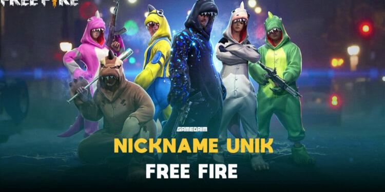 Begini Cara Bikin Nickname Unik Di Free Fire (ff) Terbaru 2021 Gamedam